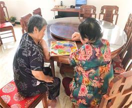 西青养老院活动